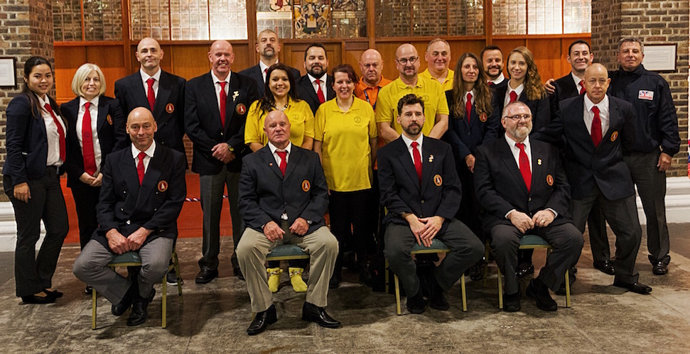 The Jikishin Competition Organisation Team and Officials