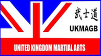United Kingdom Martial Arts (Governing Body) UKMA(GB) Logo